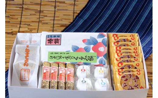 J-1 会津の老舗菓子店5社 「お馴じみ菓子 特選セット」 (常温便)