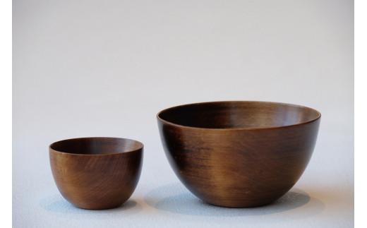 B-6 SanYoshi×NODATE bowl 70・120 ペアセット透き