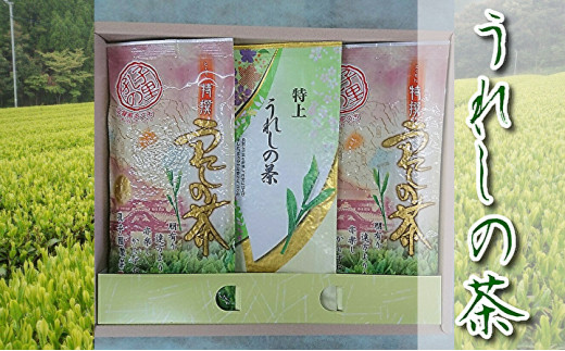 b-163うれしの茶(嬉野茶)特上・特撰セット