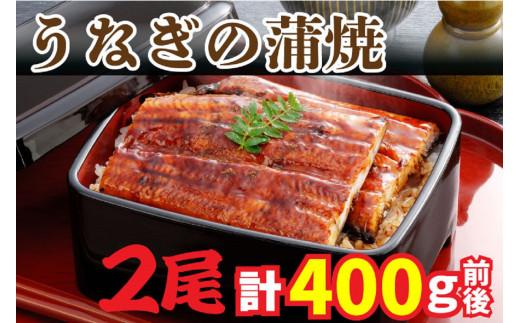 AU-043 【当店オリジナル味付け】鹿児島県産・鰻の蒲焼2尾(約200g×2尾)
