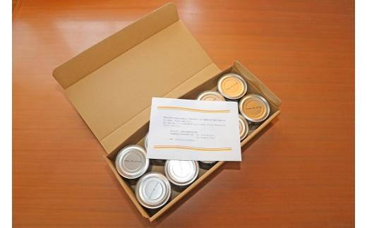 全て検品後、缶詰専用に作製した箱に入れて発送いたします