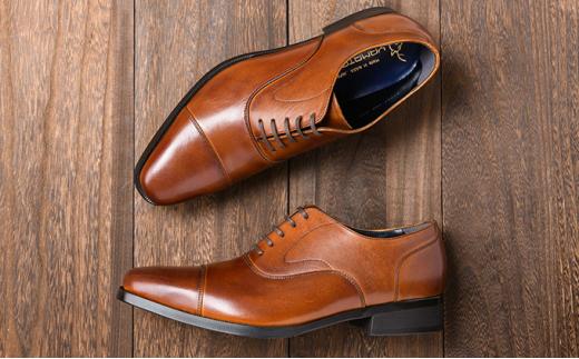 [№5990-0141]倭イズム 牛革マッケイビジネスシューズ紳士靴YAP600(ブラウン)