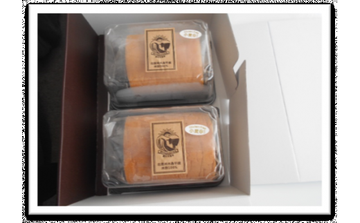 A005-02 木島平産米粉ふわふわロールケーキ ハーフ2本