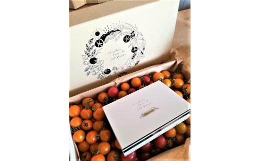 奥様がデザインされた素敵な箱でお送りします。