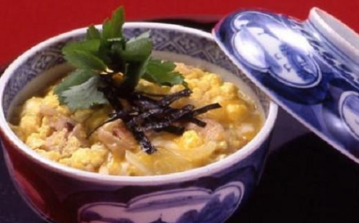 「だし醤油 昆布・椎茸」でふわとろ卵の親子丼。