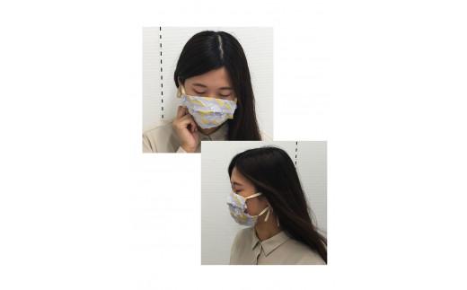 マスクの着用イメージです。