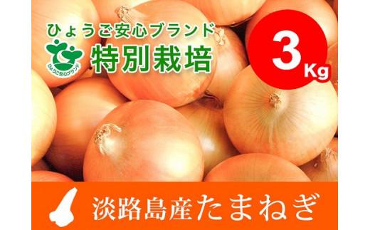 【3㎏】兵庫県認証★特別栽培★淡路島たまねぎ