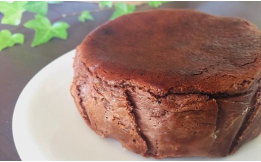 Bmu-42 バスクチーズケーキチョコレート味~四万十の米粉入り~