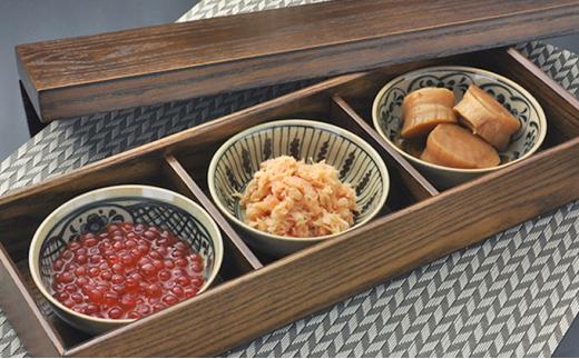 [№5224-0034]加島屋のふるさと味覚3種セット