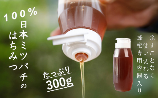 100%『日本ミツバチ』の蜂蜜 A858