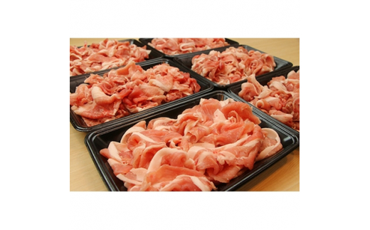 佐藤畜産の極選豚 切り落とし3.3kgセット【1097034】