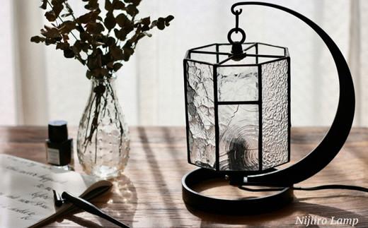 Nijiiro Lamp ステンドグラスのテーブルランプ