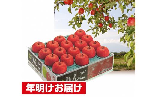 [№5731-1461]年明け 蜜入り 糖度保証サンふじ約5kg 青森県平川市産