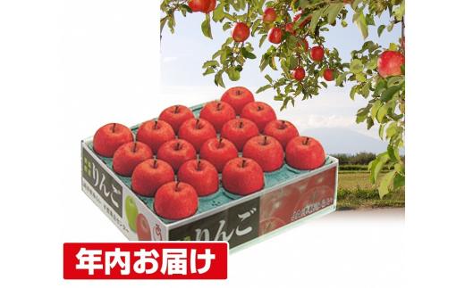 [№5731-1460]年内 蜜入り 糖度保証サンふじ約5kg 青森県平川市産