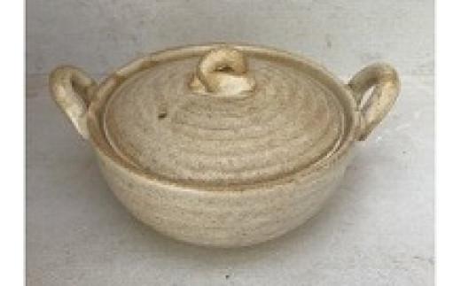 3.5寸深土鍋(白)(直火OK)