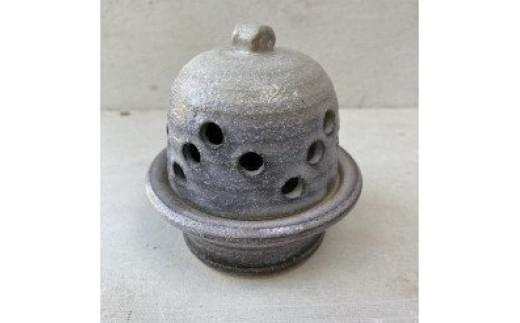 香炉(小)香立て付き 志野釉