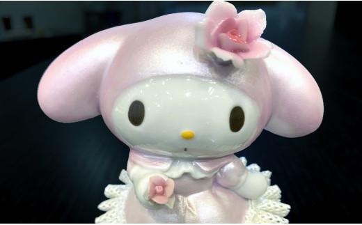 マイメロディー 40周年記念アニバーサリー陶製レース人形 オルゴール