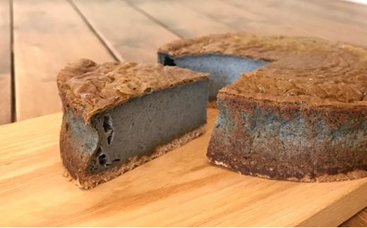 [№5546-0601]【野菜食堂めぐみカフェ】素材厳選!『黒ゴマの豆乳チーズケーキ』