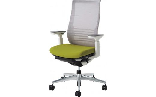 コクヨ オフィスチェア ベゼル ファンクショナルタイプ 可動肘付・樹脂脚・背座別色