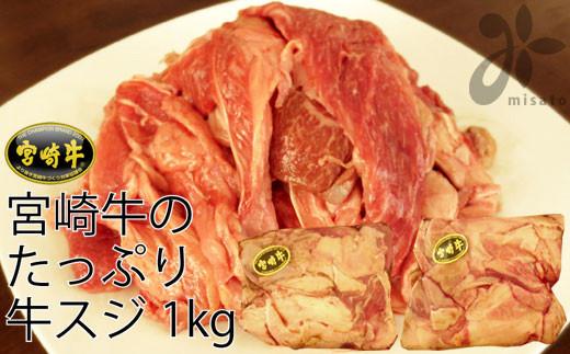 宮崎牛すじ1kg(500g×2パック)