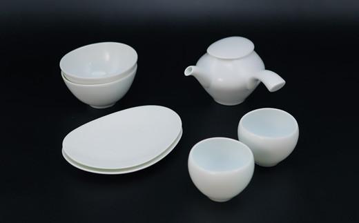 蒼爽 食器と茶器のセット