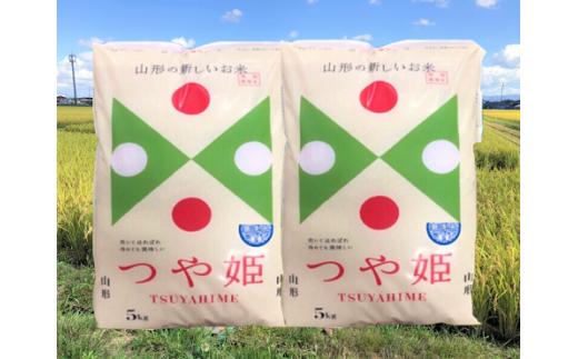 【新型コロナ被害支援】A51-036 特別栽培米つや姫無洗米(10kg)