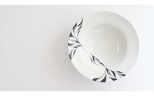 【D-3】和将窯 匠の一品 エチュードパスタ皿2枚セット