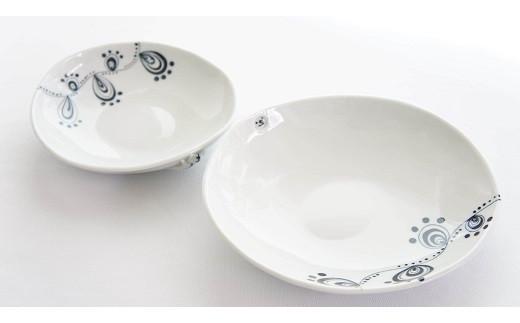【C-6】和将窯 匠の一品 猫のかくれんぼ皿セット