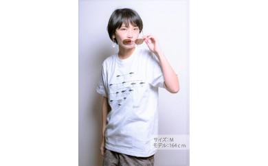 与論島のオジサンの家系図Tシャツ(ホワイト)