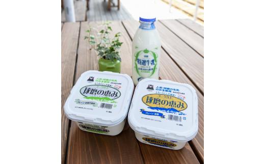 球磨酪農おすすめセットA(瓶牛乳&ヨーグルト加糖・砂糖不使用)【1113948】