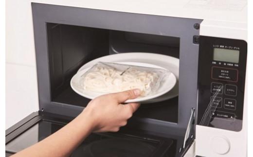 電子レンジで加熱OK!簡単、便利な冷凍うどんです。