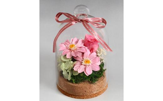 A-223プリザーブドフラワー「花畑」ピンク