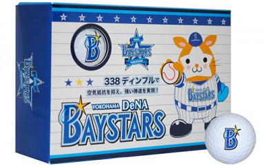 横浜DeNAベイスターズ ゴルフボール (ホワイト) 3箱