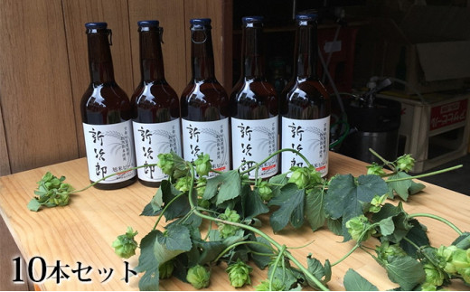 [№5223-0040]クラフトビール「新次郎」10本入りギフト