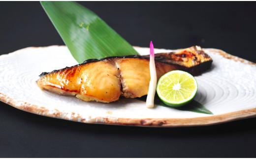 熟成本鰆(サワラ)の西京味噌漬けの調理後のイメージ。