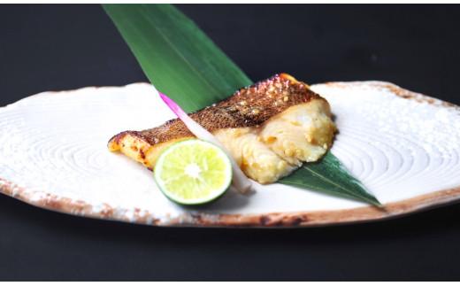 熟成銀鰈(ギンカレイ)の西京味噌漬けの調理後のイメージ