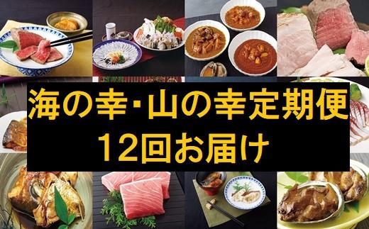 S904 《定期便》海の幸・山の幸美味しい定期便(12回お届け)