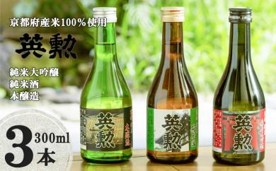 「英勲」飲み比べセット【3本組】〈齊藤酒造〉