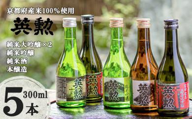 「英勲」飲み比べセット【5本組】〈齊藤酒造〉