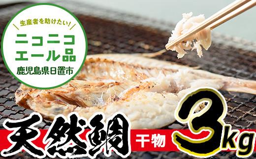 タイの干物(約3kg)【吹上町漁協】