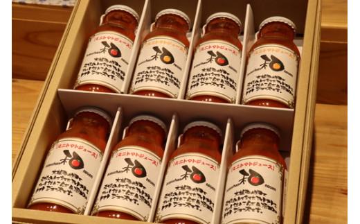 和ちゃん農園のトマトジュース(180ml×8本)