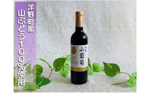 洋野山葡萄ワイン(赤・ミディアム 720ml)