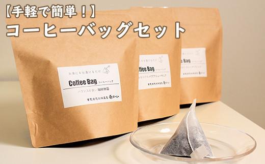 【ダブル焙煎】お湯に浸けるだけ!コーヒーバッグ 42個(7個入×6袋) ティーバッグタイプ