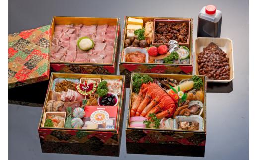 ブランチヒロノヤ 牛肉のおせちセット鶴【数量限定】