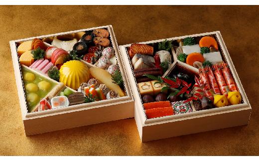 m090 ホテル雅叙園東京 新春おせち 日本料理「渡風亭」おせち