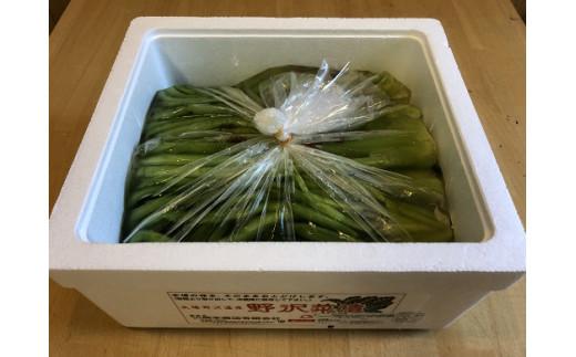 A005-03 岡本商店の野沢菜漬バラ詰め2kg(冷蔵)