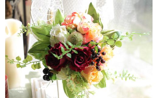 【定期便/6か月】【空気をきれいにするお花】お家まるごとアートフラワー