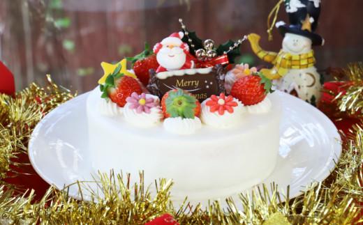 苺屋 クリスマスケーキ 生クリーム 5号 B-323
