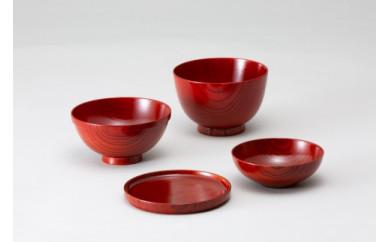 欅のおーるいん椀Ⅱ(赤)