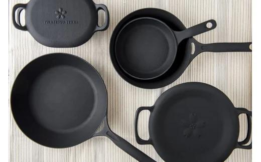 【IH対応】岩鉄鉄器 ダクタイルシリーズ フライパン ポット 鍋 鉄たまご ダッチオーブン